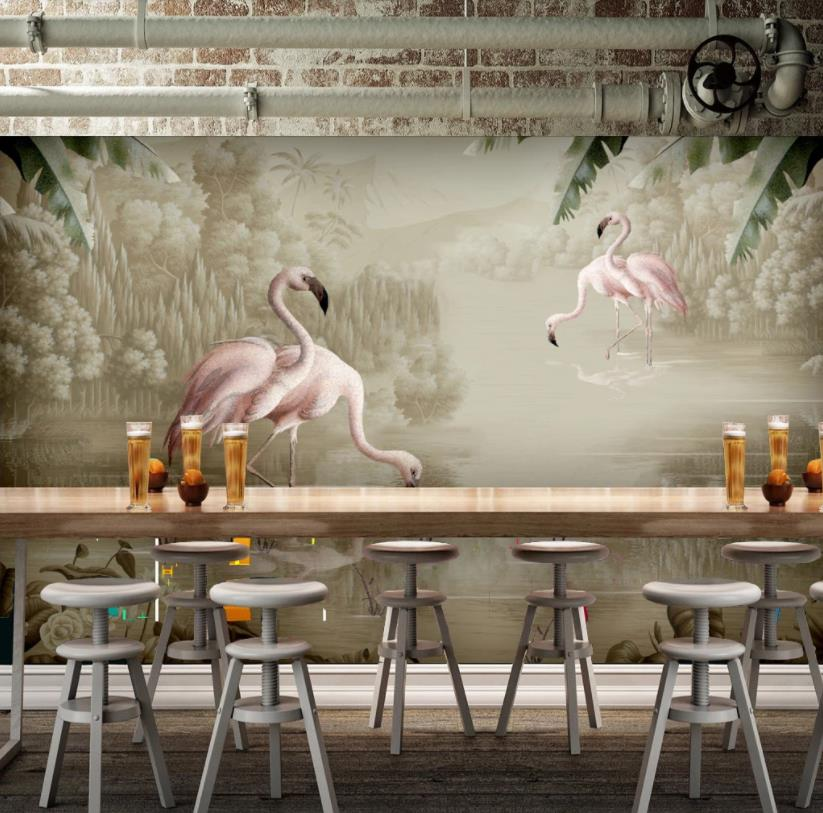 Custom European Style 3D Home Improvement Animal Scenery 3D Wallpapers For Living Room Bedroom Wall Papers Home Decor