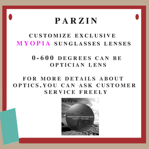 Image 5 - PARZIN Brand Designer Big Frame Sunglasses Shades For Women Fashion Oval Frame Real Quality Female Polarized Sunglasses