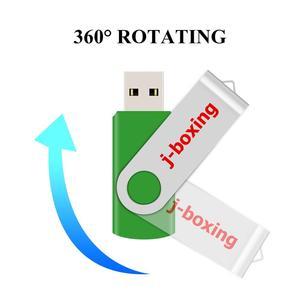 Image 4 - J boxing USB Storage Flash Drives 64MB 128MB Small Capacity Pendrive 256MB 512MB Metal Thumb Drives USB 2.0 Memory Green 10PCS