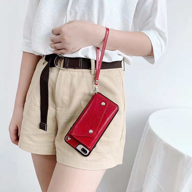 women with Long Strap Crossbody Phone Case