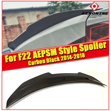 For BMW F22 M2 Car Trunk Spoiler Wing PSM Style High Quality Real Carbon Fiber Rear Wings 2series 220i 228i 230i 2014-18