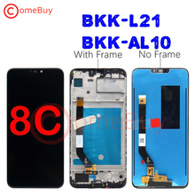 Comebuy LCD For Huawei Honor 8C LCD Display Touch Screen Digitizer Assembly With Frame For Honor 8C Display BKK AL10 BKK L21