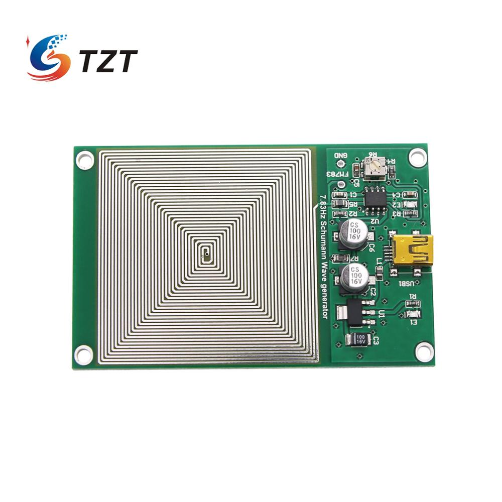TZT 7.83HZ Wave Generator Schumann Wave Ultra-low Frequency Pulse Generator For Helping Sleep FM783