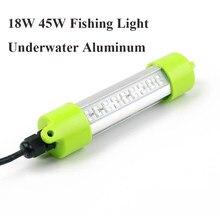 18W 45W Dc 12V IP68 Vissen Licht Onderwater Aluminium Squid Light Led Lokt Fishfinder Aantrekken Aas dompelpompen Zwembad Verlichting