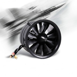 Image 1 - FMS 64mm 4S 3S 11 Blades EDF Unit With KV3150 KV3900 Brushless Motorfor RC Airplane Ducted Fan Plane