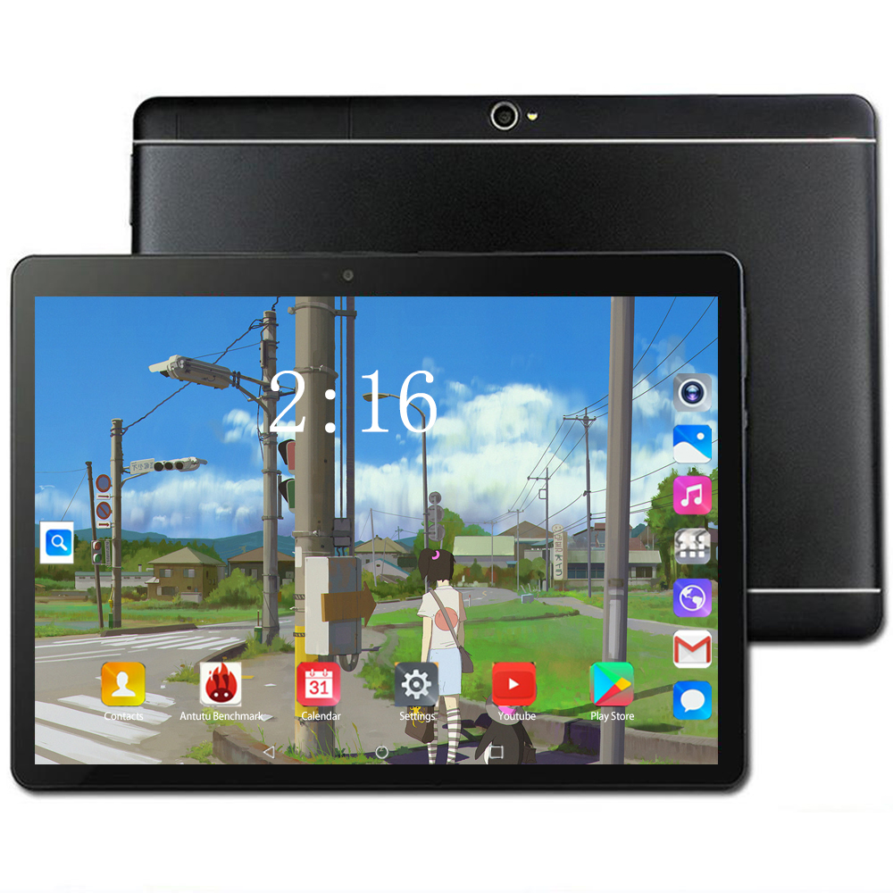 2020 Tablet 10 Inch 6GB/128GB Android 8.0 Tablet Pc Octa Core 4G Phone Tablet Android 1280*800 IPS Dual Camera Pc Tablet 10.1