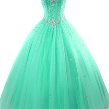Ball-Gown Quinceanera-Dresses 16-Dress Tulle Sweethear New Beads Luxury