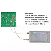 Test Board Vector Network RF Demo Kit Cable Attenuator Filter Anaylzer Set Tool Equipment Accessories For NanoVNA