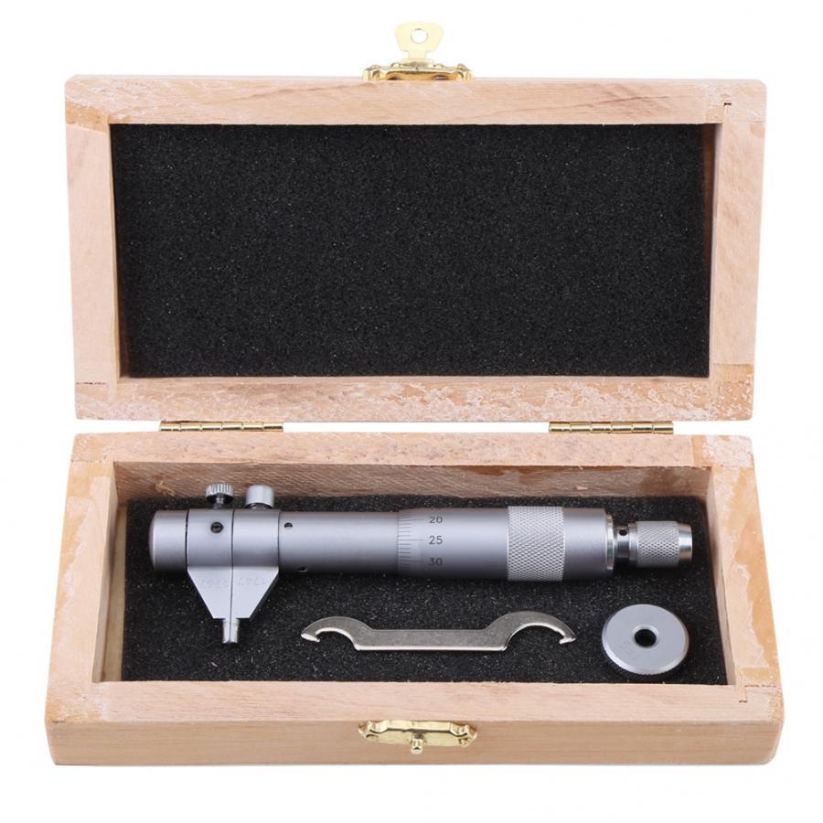 Inside Micrometer Hole Bore Internal Diameter Gage Gauge 5-30mm