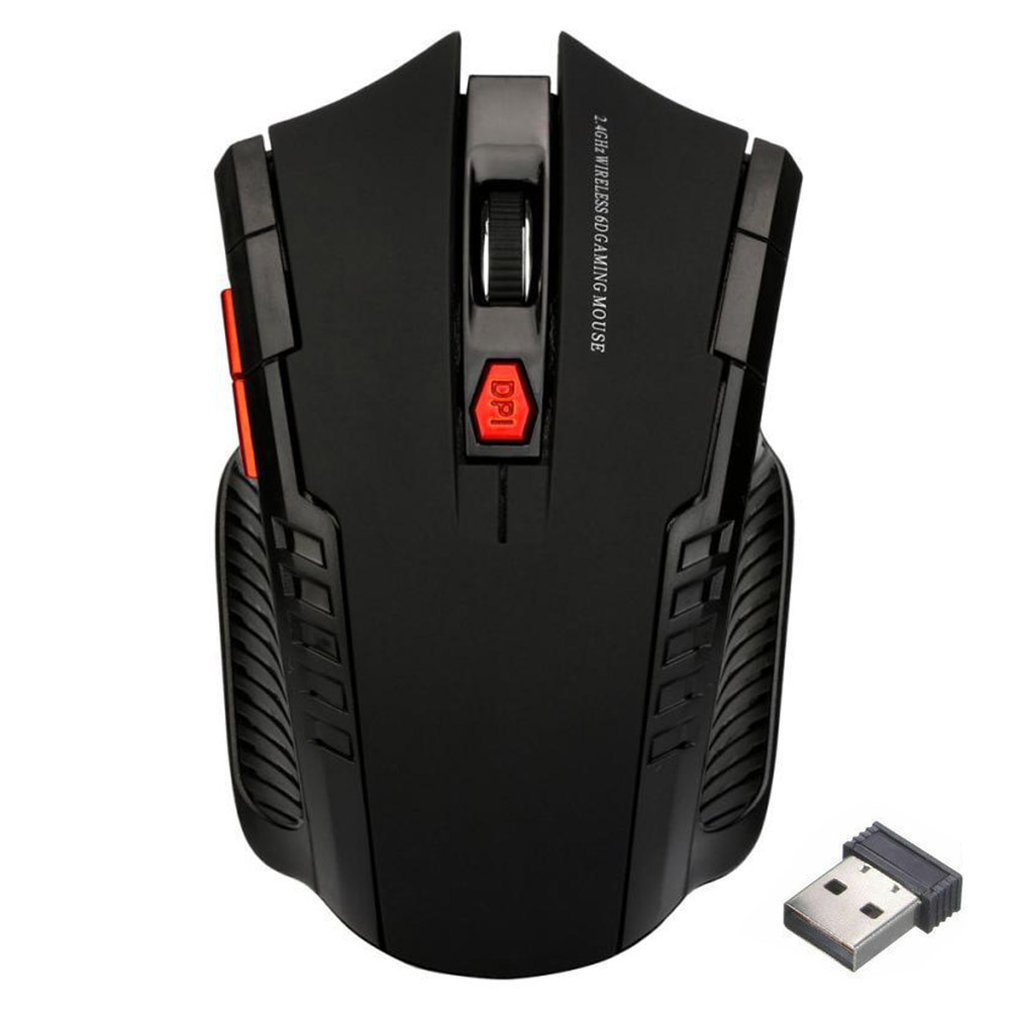 Mini mouse 2.4GHz Wireless Optical Gaming Mouse Wireless Mice for PC Notebook Desktop title=