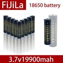 100% novo 3.7 v 18650 bateria 19900 mah li-ion recharregvel para led lanterna tocha ou apareles eletr nicos batteria