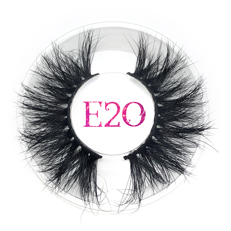 Mikiwi Lashes Fluffy False Eyelashes Thick Strip Extra Long 3D Mink Lashes Makeup Dramatic Mink Lashes