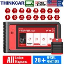 THINKCAR Thinktool Mini OBD2 Car Diagnostic Tools Full System Airbag Scan Tools Code Reader ECU Coding OBD2 Scanner Professional