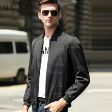 UCAK Brand Letter Blouson Homme Casual Jackets Men Clothing Streetwear Clothes Men jacket Spring New Arrival Zipper Coat U8066