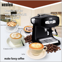 Xeoleo 15 Bar Espresso Kaffee maschine Pumpe druck maschine Espresso Kaffee maker hochdruck Volle Automatische Espresso maker-in Kaffee-und Espressomaschinen aus Haushaltsgeräte bei