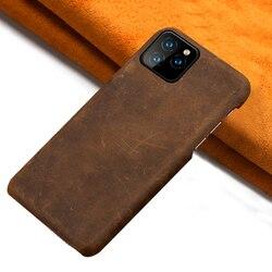 LANGSIDI oryginalne skórzane etui na telefon do iphone 11 11Pro Max X XR XS MAX 6s 7 8 Plus 6 5 5S SE 2020 ochrona tylna okładka