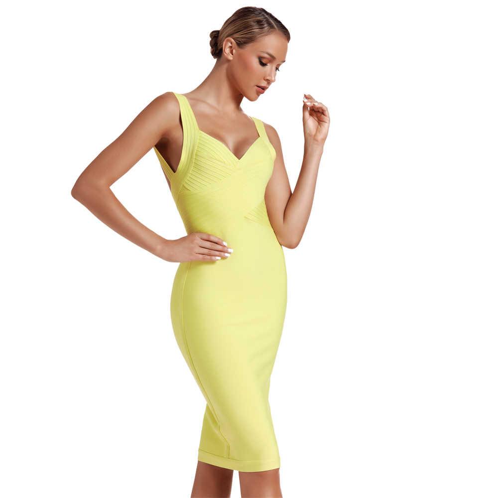 Ocstrade Новое поступление 2019 летние модные женские туфли крест бюст неоновая завязка сексуальное платье с низким вырезом на спине, обтягивающее, Бандажное вечерние платья