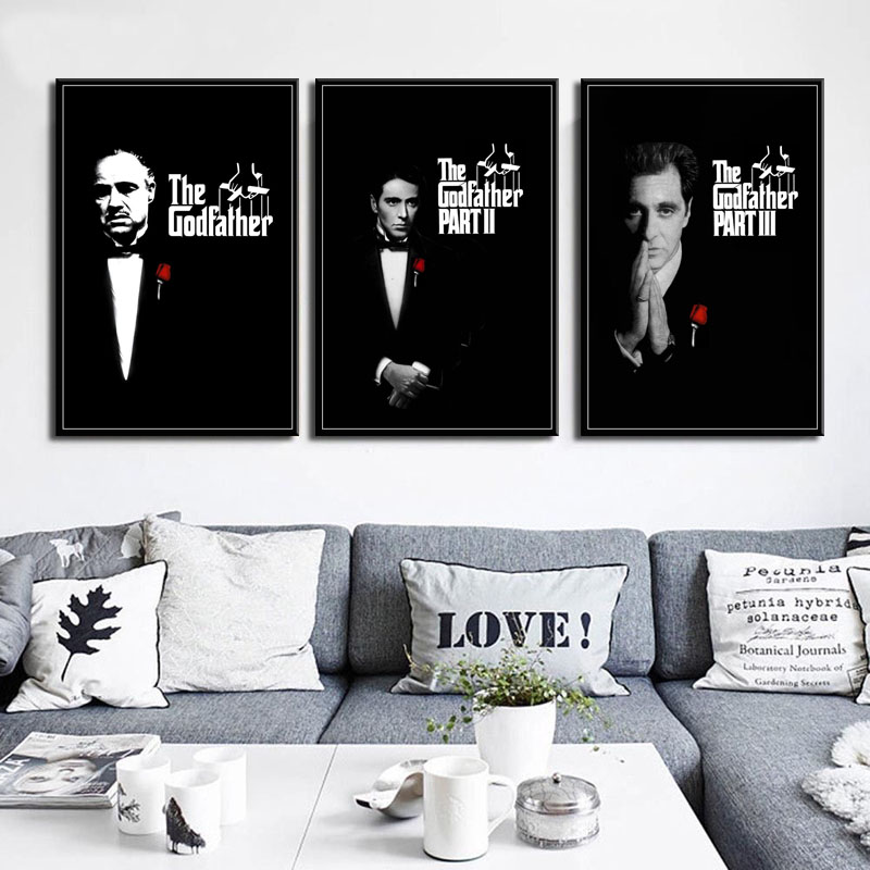 "The Godfather CANVAS WALL ART /""20X30/"""