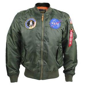 Xangai história masculino eua bandeira leve ma-1 flight bomber jaqueta blusão