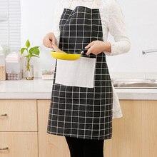 4 estilos elegir sin mangas Vintage a prueba de aceite Limpieza de algodón mujeres restaurante Hornear en Casa ajustable delantales accesorios de cocina
