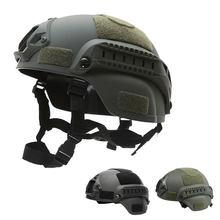 Casque tactique casque rapide MICH 2000 Airsoft MH casque militaire cyclisme en plein air CS Paintball SWAT équitation protéger équipement