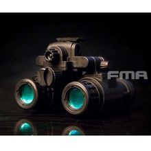 цена на 2019 Fma Tactical Game Helmet Accessories Nvb An -pvs31 Light Mannequin Version B (black) Tb1284 -b