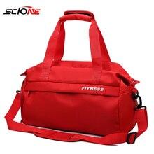 Водонепроницаемая женская спортивная сумка для занятий фитнесом и йогой, мужская спортивная сумка для занятий спортом, через плечо, XA47G