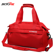 Waterproof Dry Wet Separation Gym Bag Women Fitness Yoga Mat Men Training Hand Bag Swimming Crossbody Outdoor Sport Bags XA47G