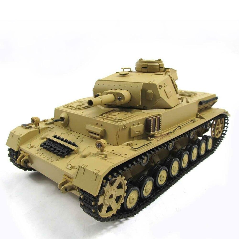 Heng Long 1/16 Panzer IV F1 RC Tank Metal Gearbox