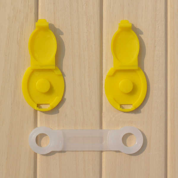 5 шт./партия, Детские замки для защитного шкафа, дверный стол, ящик, шкаф, пластиковый замок, Детские Безопасные замки