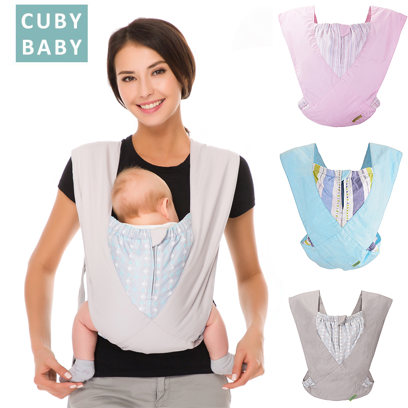 Baby Carrier Natural Cotton Ergonomic Baby Carrier Backpack Carrier Soft-structured  sing Easy Wearing  Newborn Infant Toddler