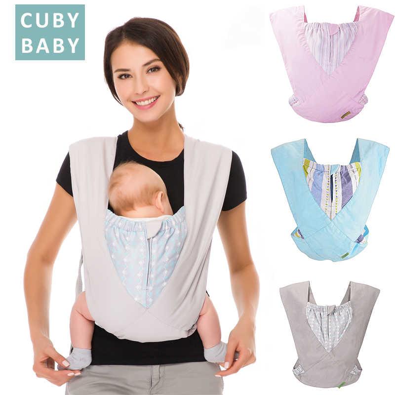 Nosidełko dla dziecka naturalna bawełna ergonomiczne nosidełko dla dzieci nosidełko dla dziecka plecak przewoźnik kangur chusta do noszenia dzieci łatwe noszenie noworodka maluch
