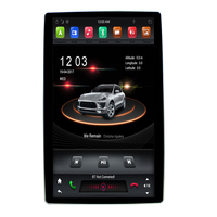 KANOR 12.8 Tesla Style Rotation IPS Screen 2 Din Universal Android 8.1 Car DVD GPS Player Radio Car Stereo Voice Control
