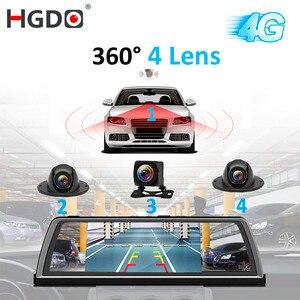 HGDO H100 4 Lens ADAS Car DVR