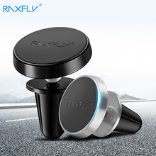 RAXFLY Magnetic Car Phone Holder For iPhone XS Max XR XS X 8 7 Plus 6S Car Phone Holder Smartphone For Samsung S10 S9 S8 Plus S7
