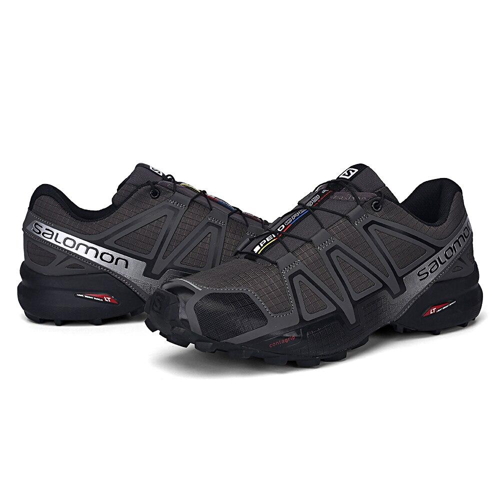 Salomon vitesse Cross 4 hommes chaussures de plein air Sport athlétique Zapatillas Hombre Speedcross CS mâle Salomon escrime course Mujer chaussures - 5