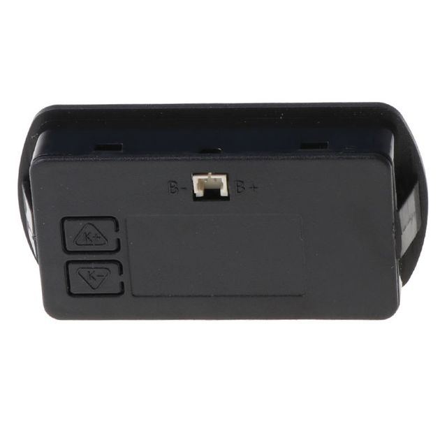 Фото 12 в 24 в жк дисплей ёмкость аккумулятора вольтметр тестер индикатор цена
