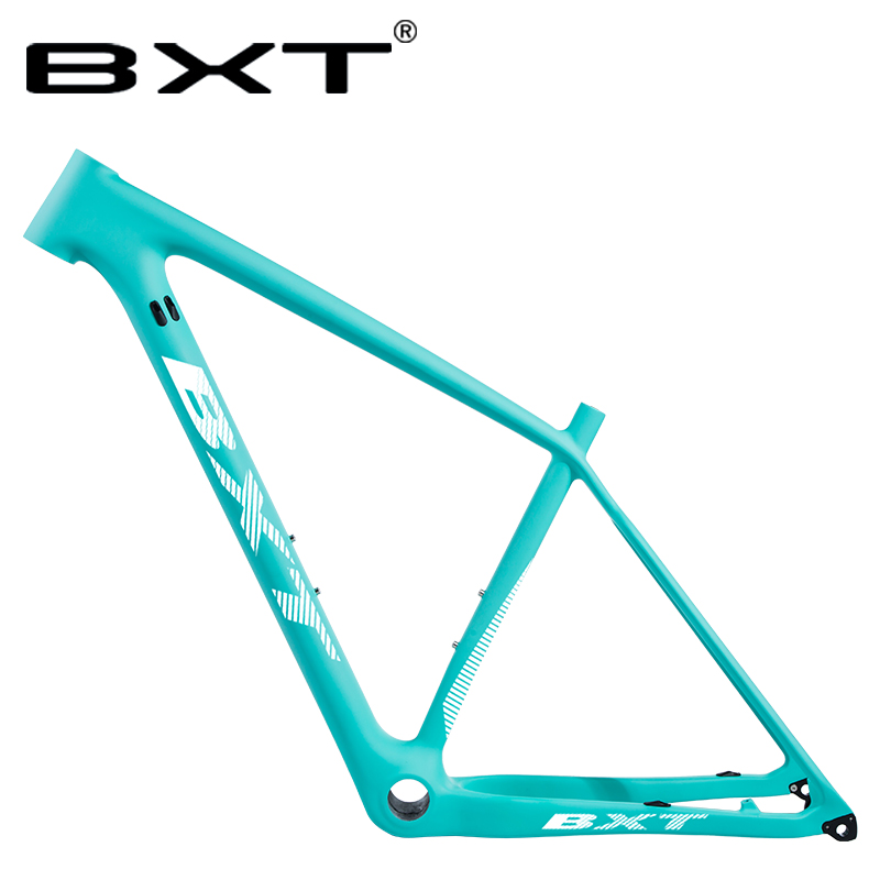Free shipping T800 Carbon mtb Frame 29er S M L Mountain Bike Bicicletas Carbon Frame mtb Green Matte Glossy BSA for Bicycle