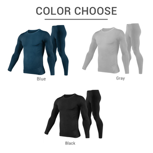 Image 5 - HEROBIKER Motorcycle Thermal Underwear Set Mens Motorcycle Skiing Winter Warm Base Layers Tight Long Johns Tops & Pants Set
