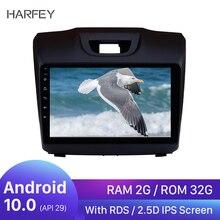 "Harfey Android 10,0 de 9 ""2 Din Car Radio para Chevy Chevrolet S10 2015-2018 ISUZU D-Max Auto reproductor Multimedia GPS Navi de Audio"