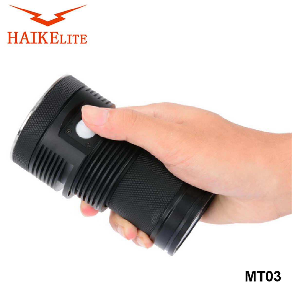 HaikeLite MT03 Đèn Pin LED XHP70.2 21000LM Cao Cấp Đèn Cắm Trại Đèn Pin Đèn  Khẩn Cấp Đèn|Self Defense Supplies