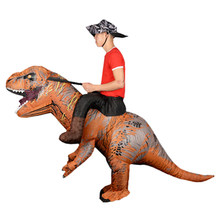 Mascot Inflatable Dinosaur T REX Anime Cosplay For Adult Men Women Kids Dino Cartoon Costume
