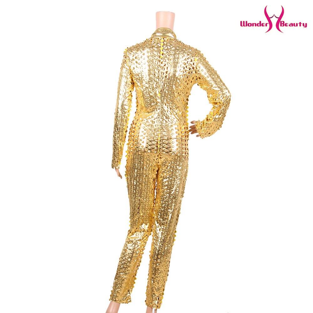 wetlook catsuit pu faux leather jumpsuit zentai costume women zipper front hollow out hole pole dance nightclub vinyl bodysuit (16)