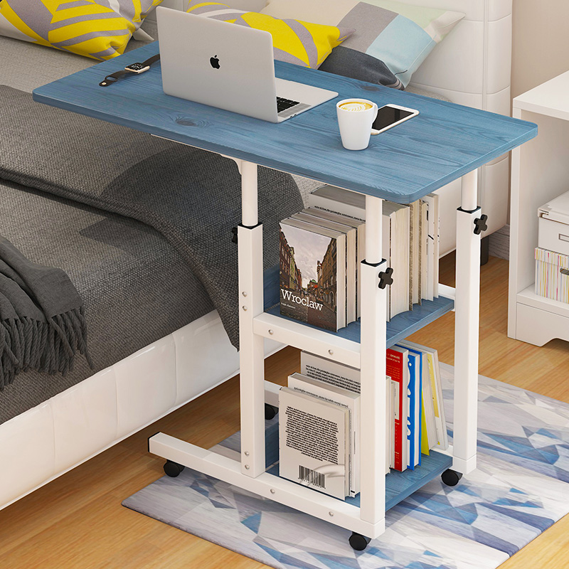 The Table Dormitory Simple Portable Laptop Bedside Table Lift Desk Household Bedroom Table For Lazy People