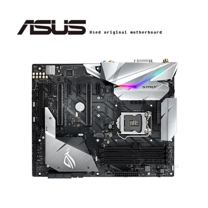 For ASUS  ROG STRIX Z370-E GAMING Original Motherboard Socket LGA1151  DDR4 Z370 Desktop Motherboard