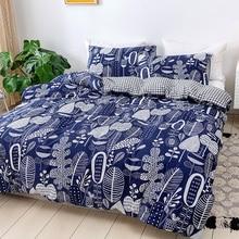 Duvet-Cover-Sets Bonenjoy Queen-Size Double-Bedding-Set Single-Bed 2/3pcs Print for Modern-Style