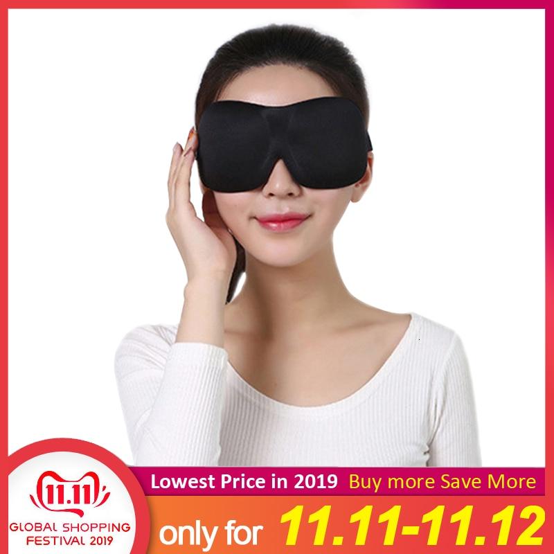 1Pcs 3D Glasses Shaped Eye Mask Natural Sleeping Eyeshade Cover Women Men Soft Portable Blindfold Travel Eyepatch Hot Adjustable