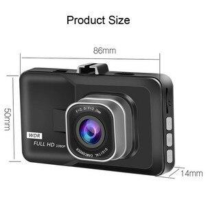 Image 5 - 3 Inch Xe ĐẦU GHI HÌNH Camera Full HD 1080P Hai Ống Kính Chiếu Hậu Video Camera Tự Động Registrator Tầm Nhìn Ban Đêm Dash cam