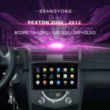 Android Auto Dvd Voor Ssangyong Rexton (2006 2012) auto Radio Multimedia Video Player Navigatie Gps Android 10.0 Dubbel Din