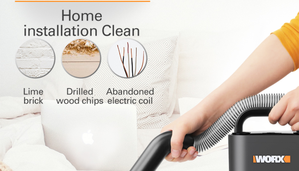 Clean Home with WORX Vacuum Cleaner